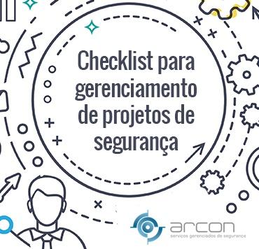 Gerenciamento projetos de segurança