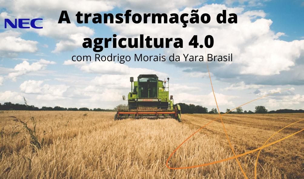 A transformação da agricultura 4.0