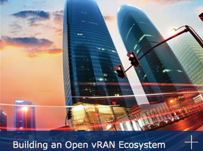 Building an Open vRAN Ecosystem