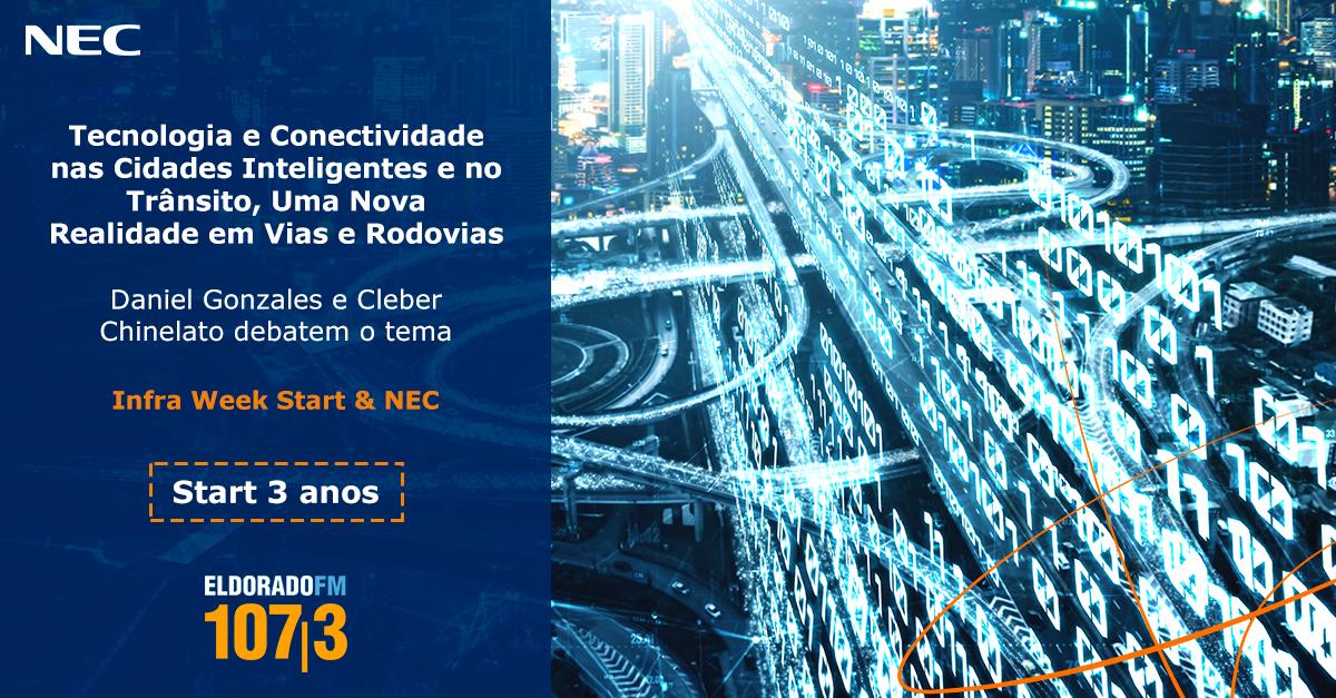 Tecnologia e conectividade nas cidades inteligentes e no trânsito, uma nova realidade em vias e rodovias